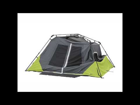 Core Equipment 6 Person Instant Cabin Tent with Awning