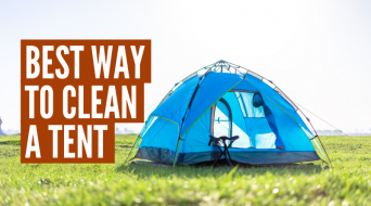 How To Clean A Tent (Step-By-Step)