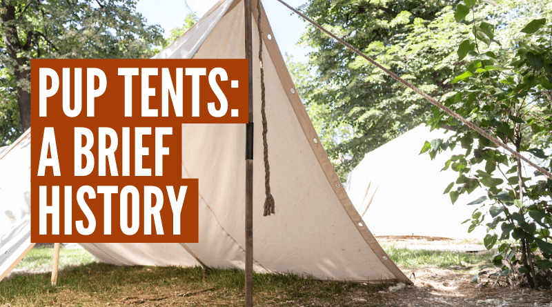 What Is A Pup Tent