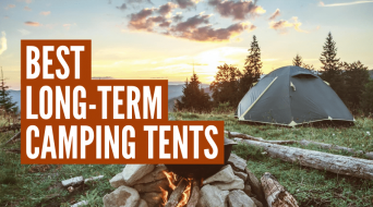3 Best Tents For Long Term Camping (Buyers Guide)