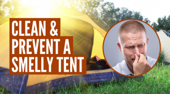 How To Clean A Tent That Smells (Proven Methods)
