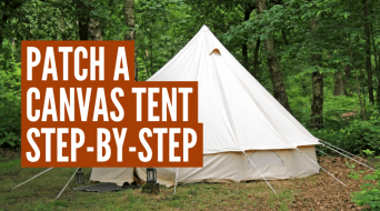 How To Patch A Canvas Tent The Right Way