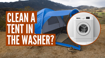 Can You Wash A Tent In A Washing Machine?