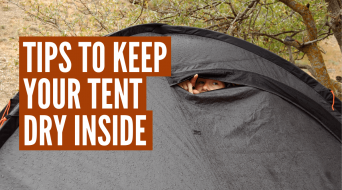 How to Keep Your Tent Dry Inside (Best Methods)