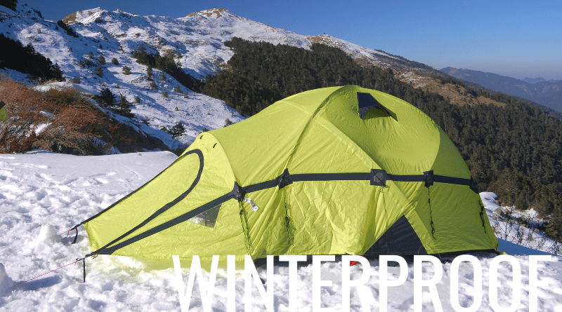 How to winterproof a tent