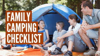 Ultimate Family Camping Checklist (+ Printable Camping Checklist PDF)