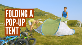 How to Fold a Pop Up Tent (Step-By-Step)