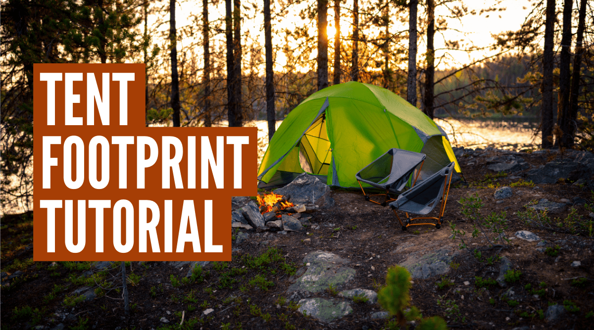 How to use a tent footprint the right way!