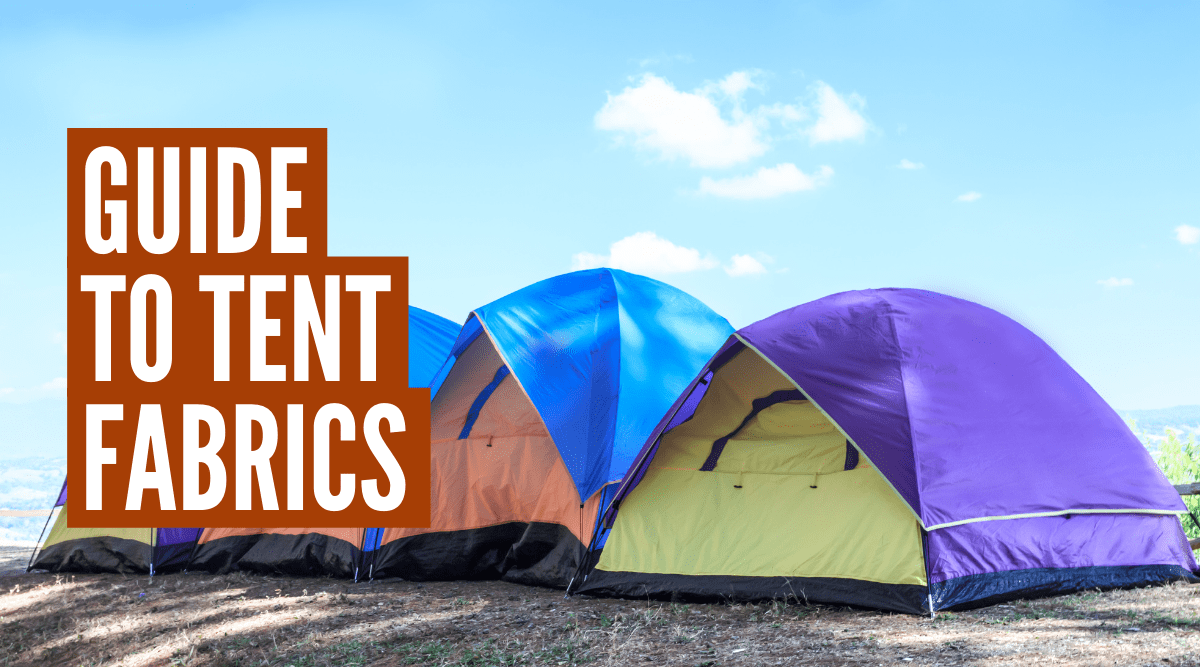 What material are tents made of