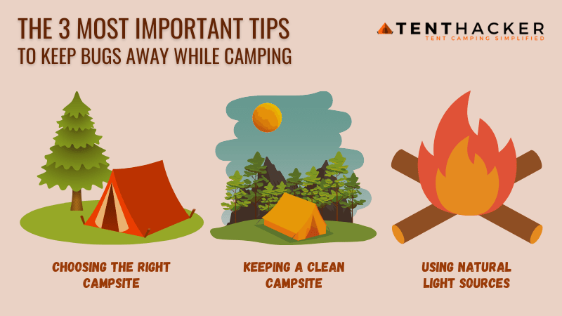 How to keep bugs away while camping