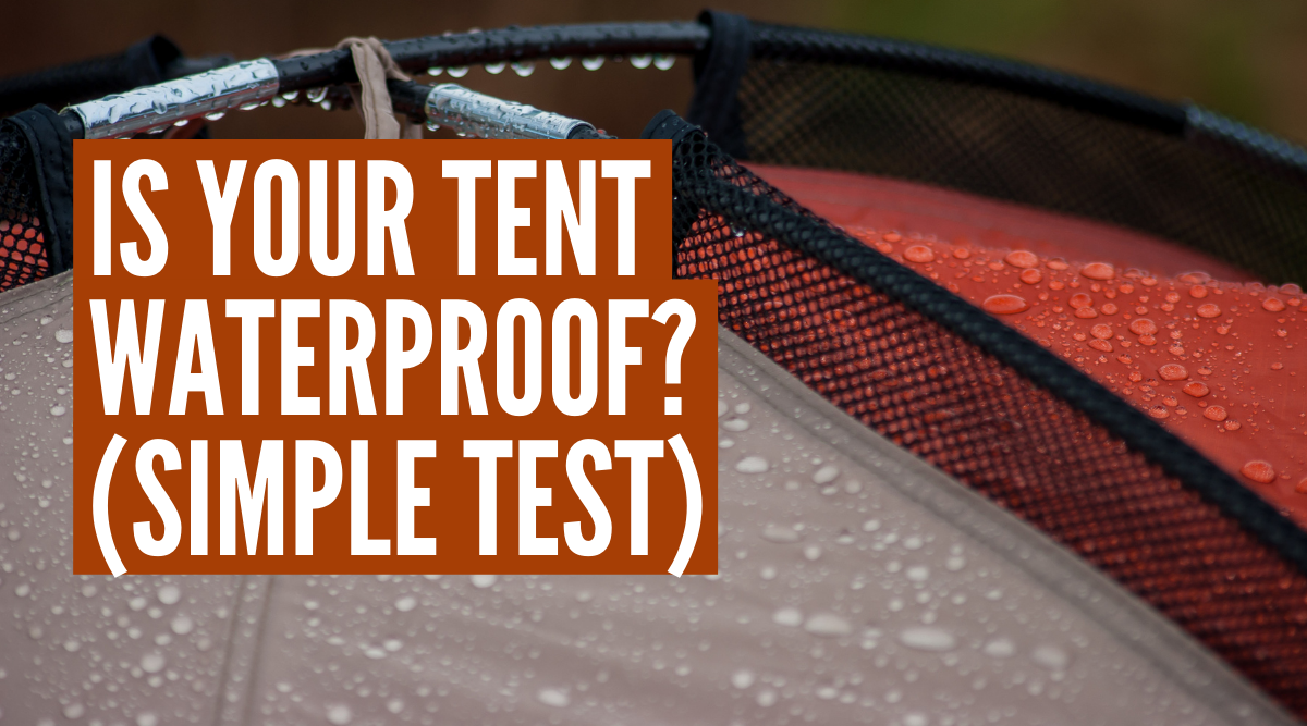 how do you know if a tent is waterproof